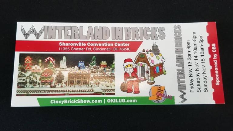 Winterland In Bricks Tickets