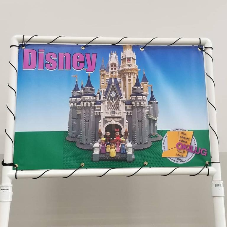 Disney OKI Lug Banner