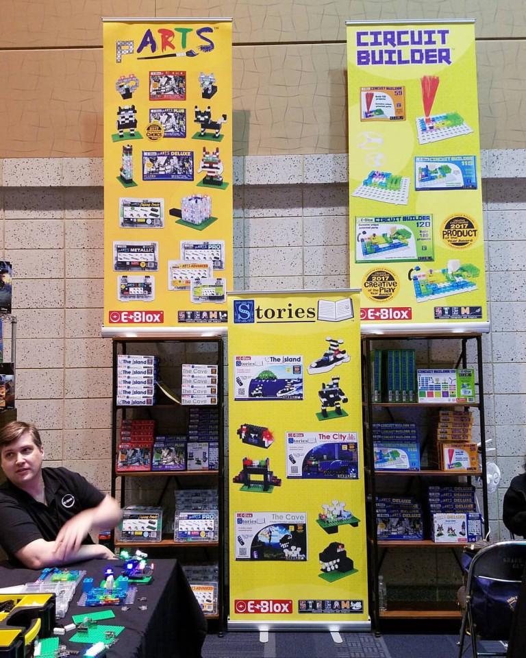 E-Blox Retractable Banner Stands