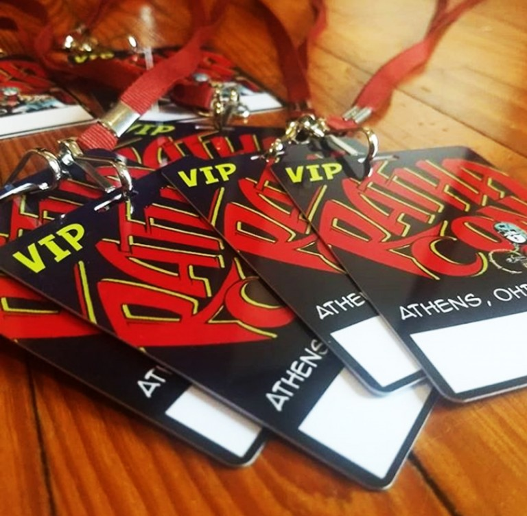 Rathacon Convention Badges