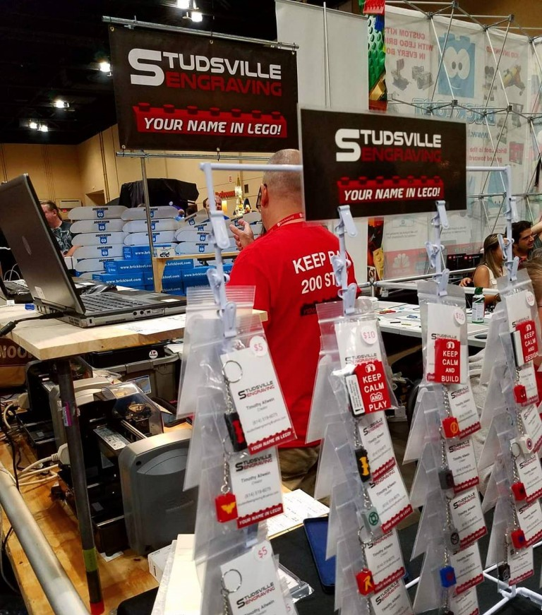 Studsville Engraving Booth Signage